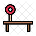 Benchpress Gym Exercise Icon