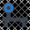 Benchpress Gym Exercise Icon