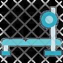 Fitness Gym Bench Press Icon
