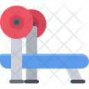 Bench Press Gym Fitness Icon