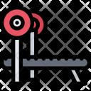 Bench Press Athlete Icon
