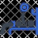 Bench Press Exercise Chest Press Icon