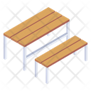 Furniture Benches Outdoor Seating Icon