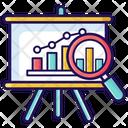 Benchmarking Data Analysis Business Statistics Icon