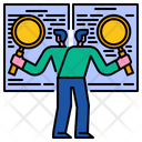 Benchmarking Business Research Benchmark Icon