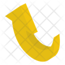 Bend Up Arrow Icon