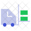 Bendi Truck Forklift Lift Box Icon