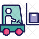 Bendi Truck Freight Counterbalanced Truck Icon
