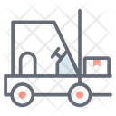 Fork Hoist Fork Truck Delivery Lifter Fork Lift Icon