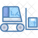 Freight Bendi Trucks Counterbalanced Truck Icon