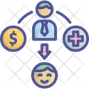 Benefit Compensation Coverage Icon