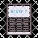 Benefit Profit Features List Icon