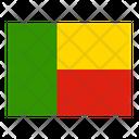 Benin Flag Flags Icon