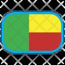 Benin Country Flag Icon