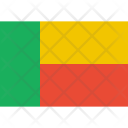 Benin Flag World Icon