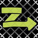 Bent Arrow Curved Arrow Directional Arrow Icon
