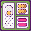 Mbento Box Bento Box Bento Icon