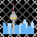 Berlin tv tower Icon