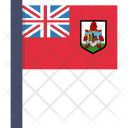 Bermuda Flag Circle Icon