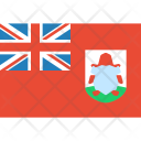 Bermuda Flag World Icon