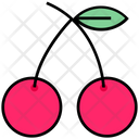 Summer Berries Cherries Icon