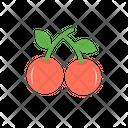Berries Razz Berry Fruit Icon