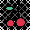 Berry Cherry Fruit Icon