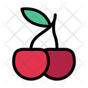 Berry Cherry Fruit Icon