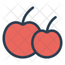 Berry Fruit Cherry Icon