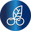 Berry Cherry Mistletoe Icon