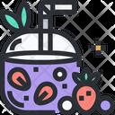 Berry Iced Tea Berry Ice Tea Icon
