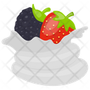 Berry Pavlova Berries Frosting Berries Whip Icon