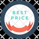 Best Price Sticker Icon