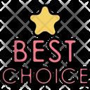 Best Choice Best Quality Premium Quality Icon