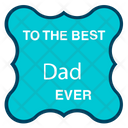 Happy Fathers Day Best Dad Sticker Fathers Day Logo Icon