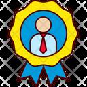 Best Employee Executive Icon