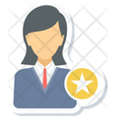 Star Employee Business Icon