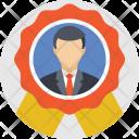 Badge Employee Winner Icon