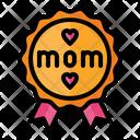 Best Mom Badge Icon