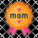 Best Mom Badge Mom Badge Best Icon
