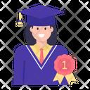 Best Student Badge Icon