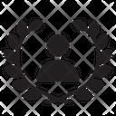 Badge Best User Best Employee Icon