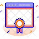 Browser Web Page Badge Icon