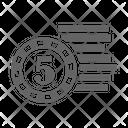 Bet Coin Icon