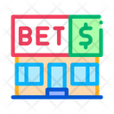 Betting Office Gambling Icon
