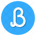Beta Greek Letter Greek Name Icon