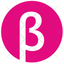 Beta Alphabet Greek Icon