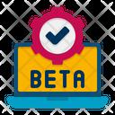 Beta Testing Test Testing Icon