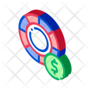 Casino Poker Money Icon