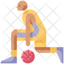 Between The Legs Basketball Sport Icon